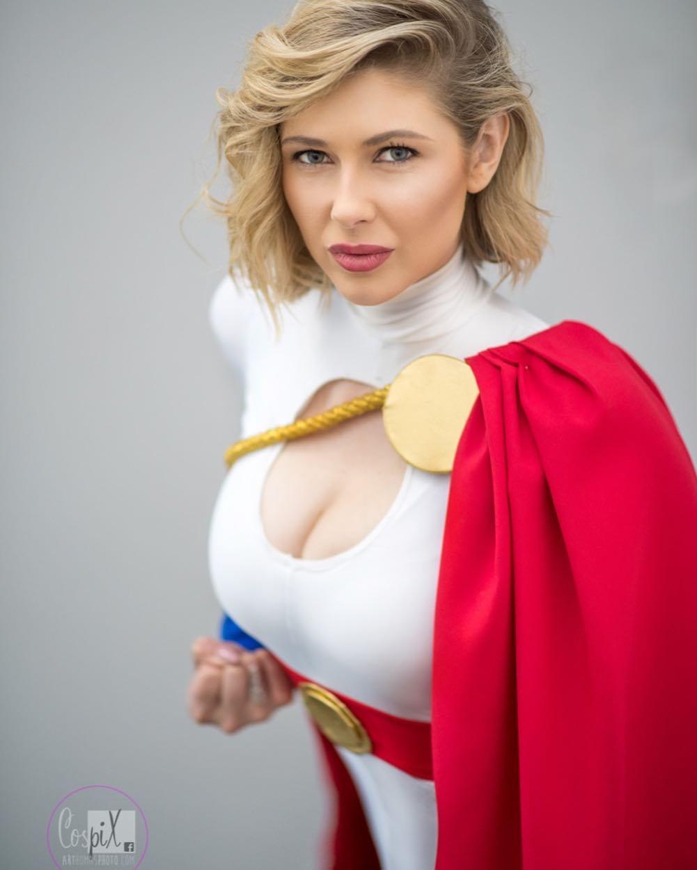 Powergirl Cosplay – melbournegirlxx – Photo bycospixbyart