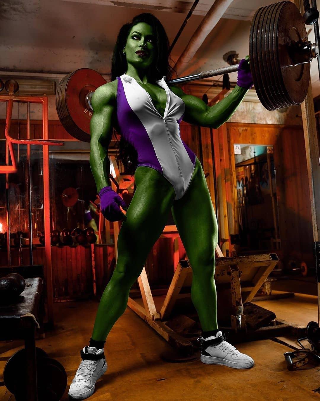 Shehulk hulk cosplay by harvimonroe photo by apinphoto