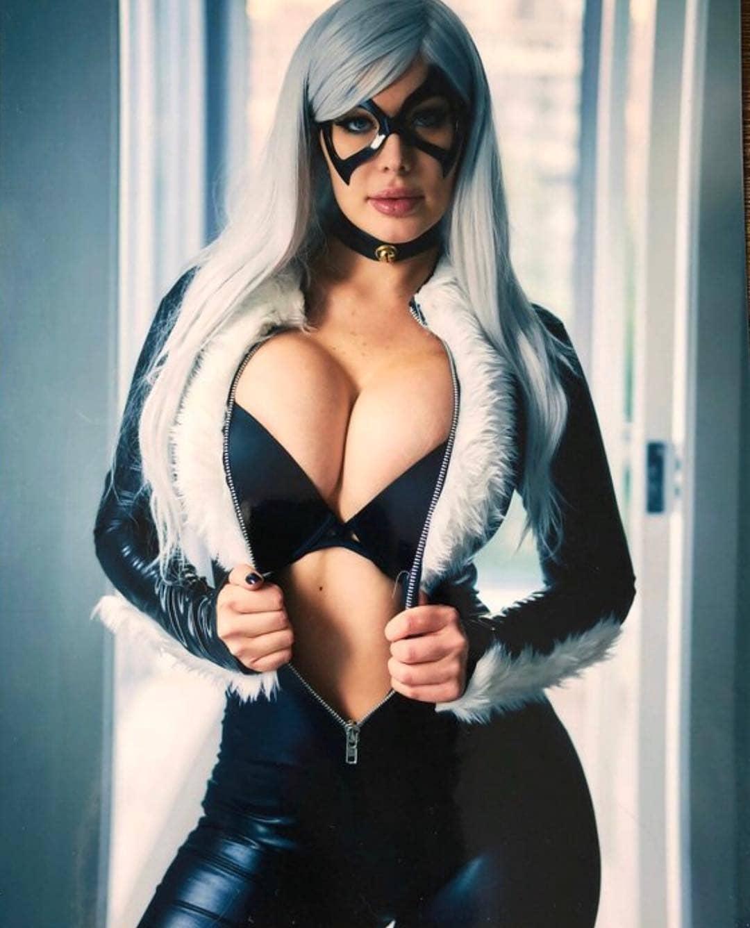 blackcat cosplay by missveronikablack
