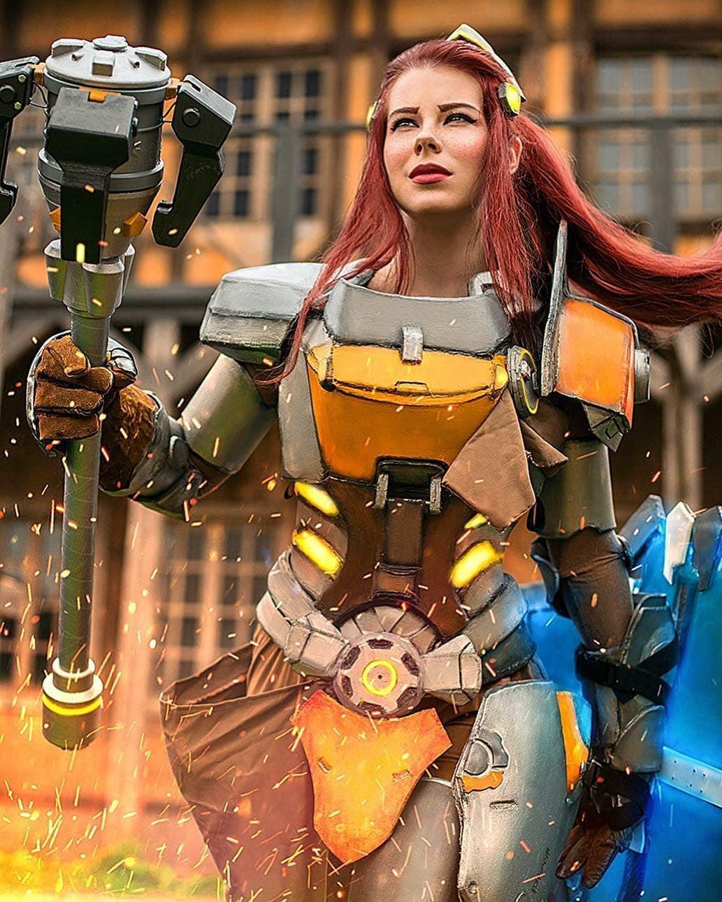 brigitte overwatch cosplay by anastasyazelenova Ph oltaura Edit alicenevermind