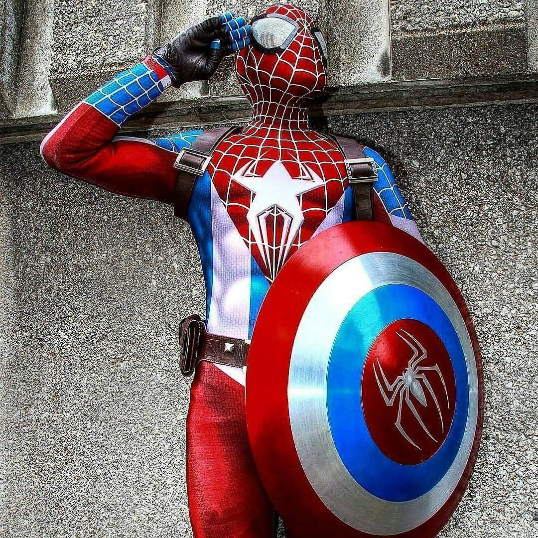 captainspiderman cosplay by ryan19921 photo by heisenberglookalike