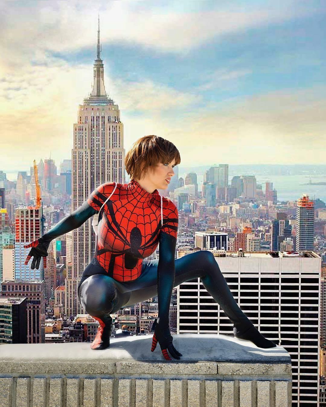 maydayparker spiderman cosplay erikacosplay photo by aflawlessimage