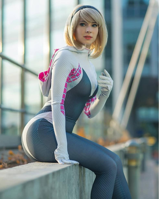 spidergwen cosplay enjinight Photo by omaruisfed