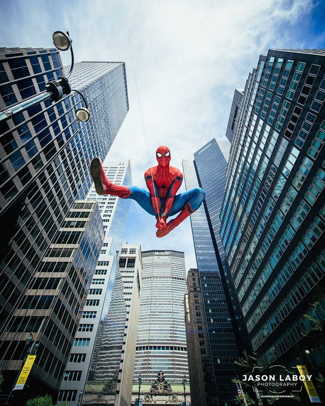 spiderman cosplay by trevraycosplay photo by jasonlaboyphotography