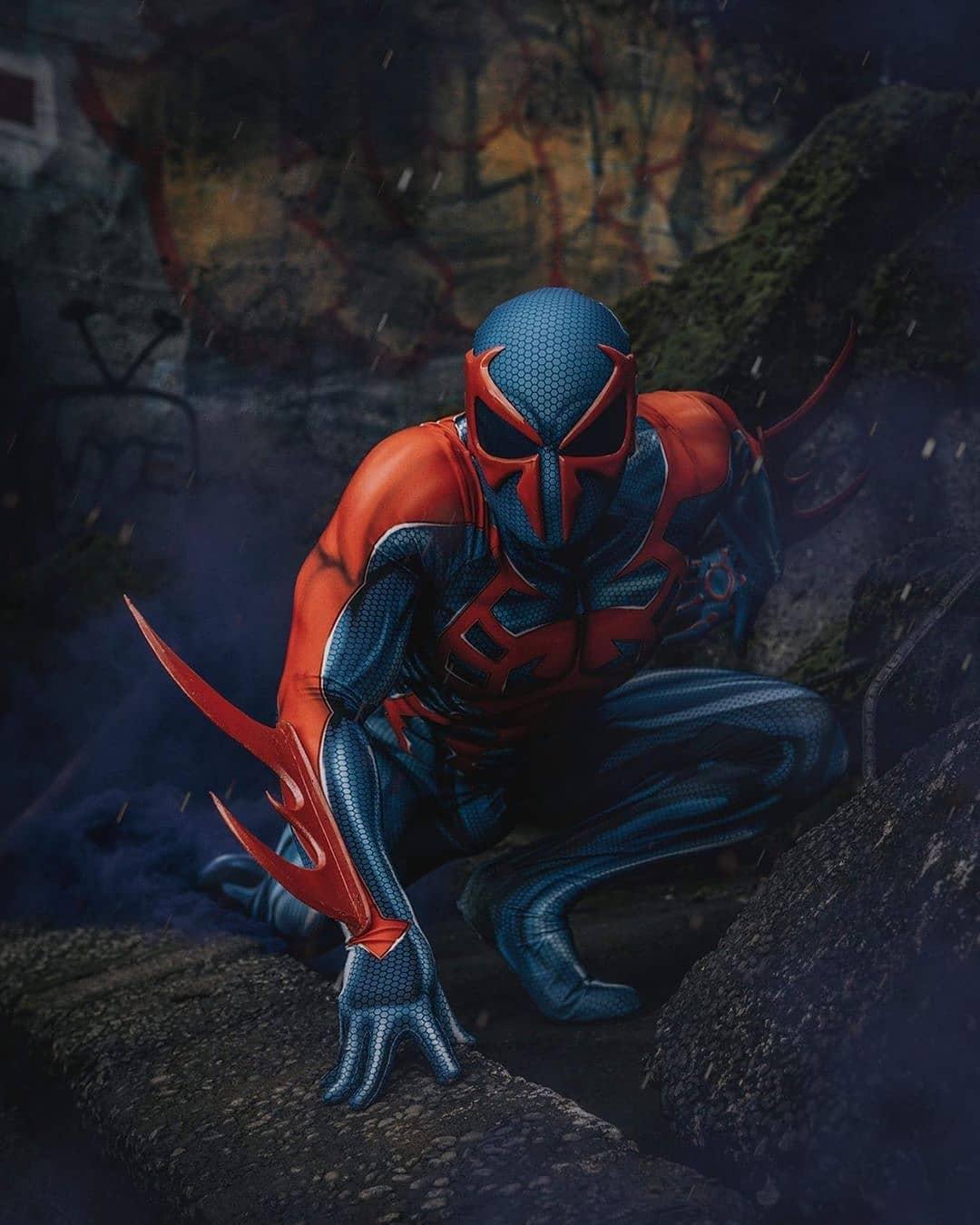 spiderman spiderman2099 cosplay hoptownspidey photo by kickassdesigns