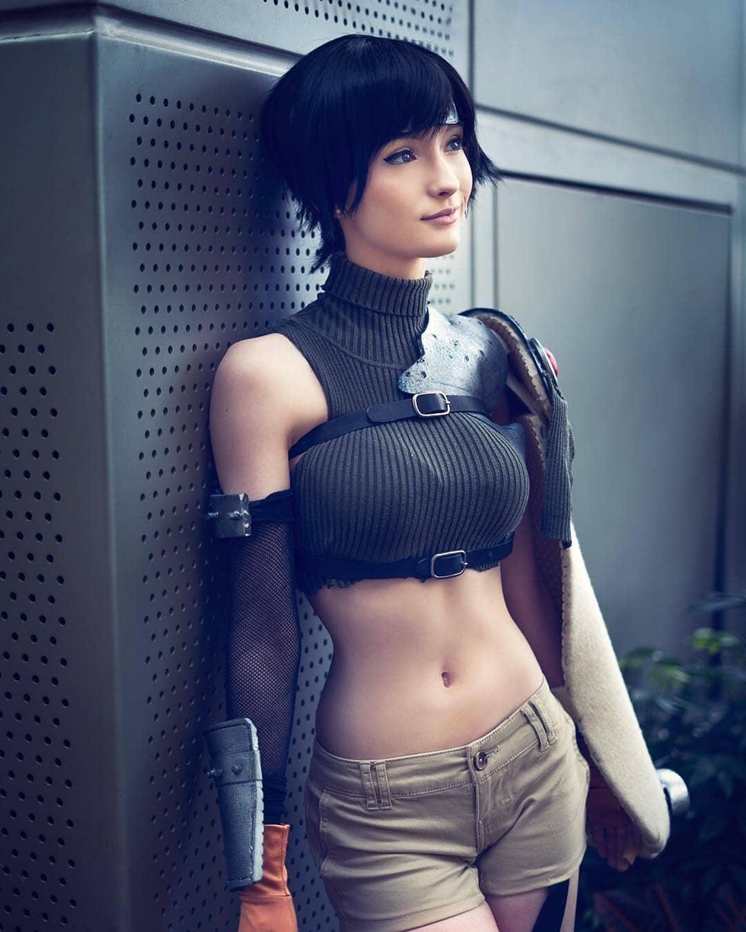 yuffie finalfantasy cosplay by alex_cosplays photo by jwaidesign