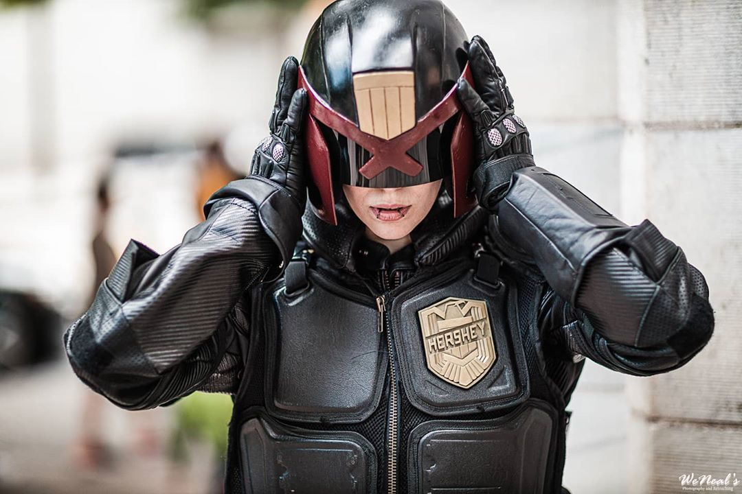 Jedge Dredd by miss_sinister photo by weneals_photography