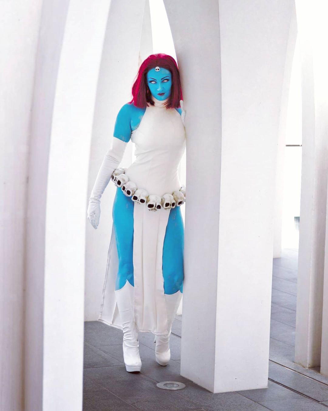 Mystique Cosplay by carastrophic_creates – photo by gapincyberspace