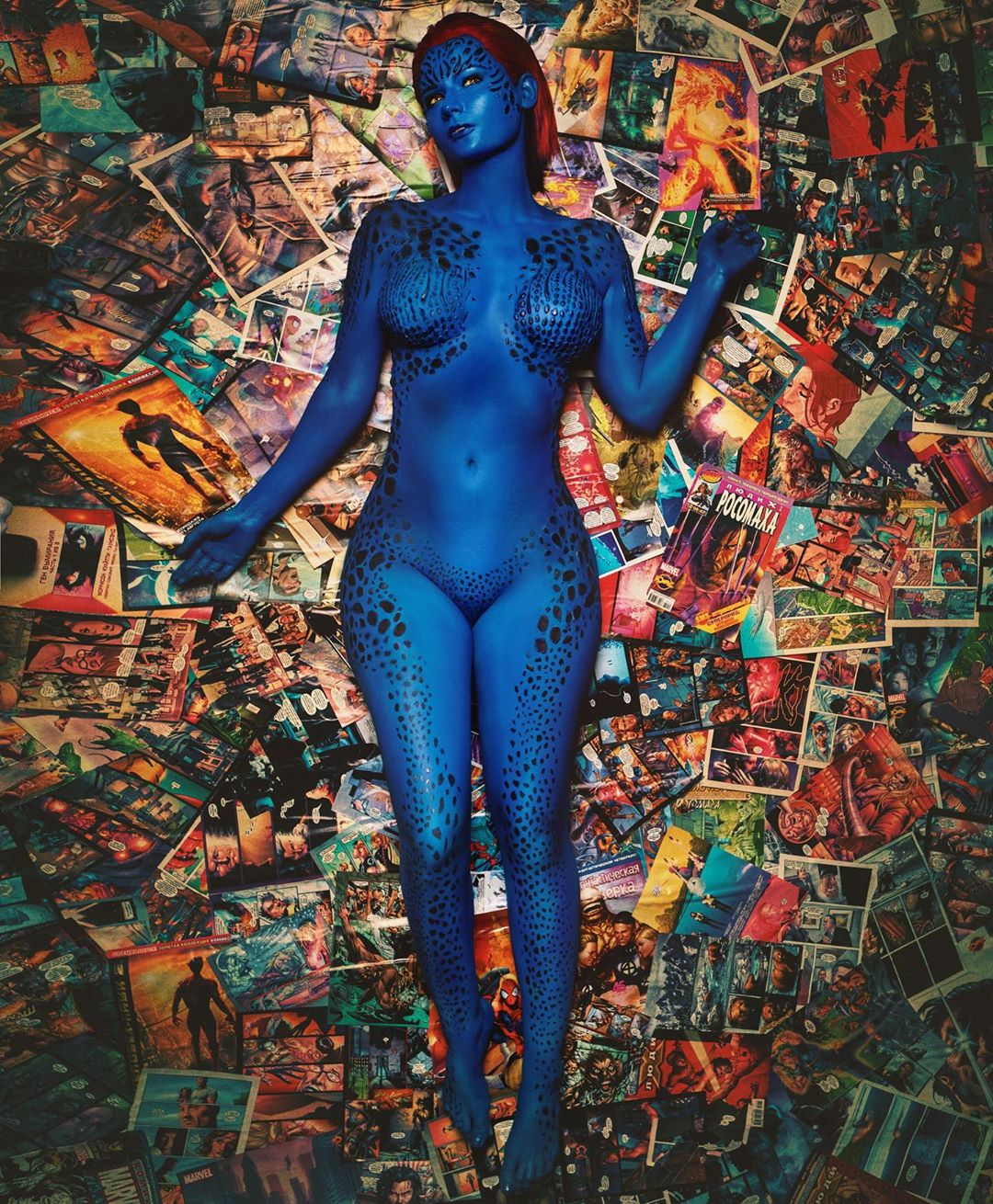 Mystique Cosplay by jannetincosplay – photo by photo_makar