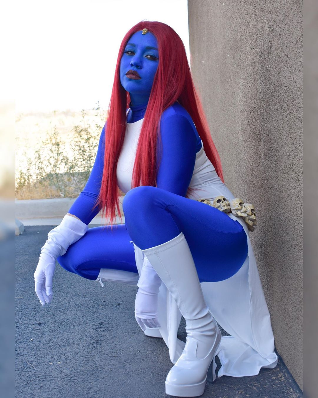 Mystique Cosplay by sparrowsess