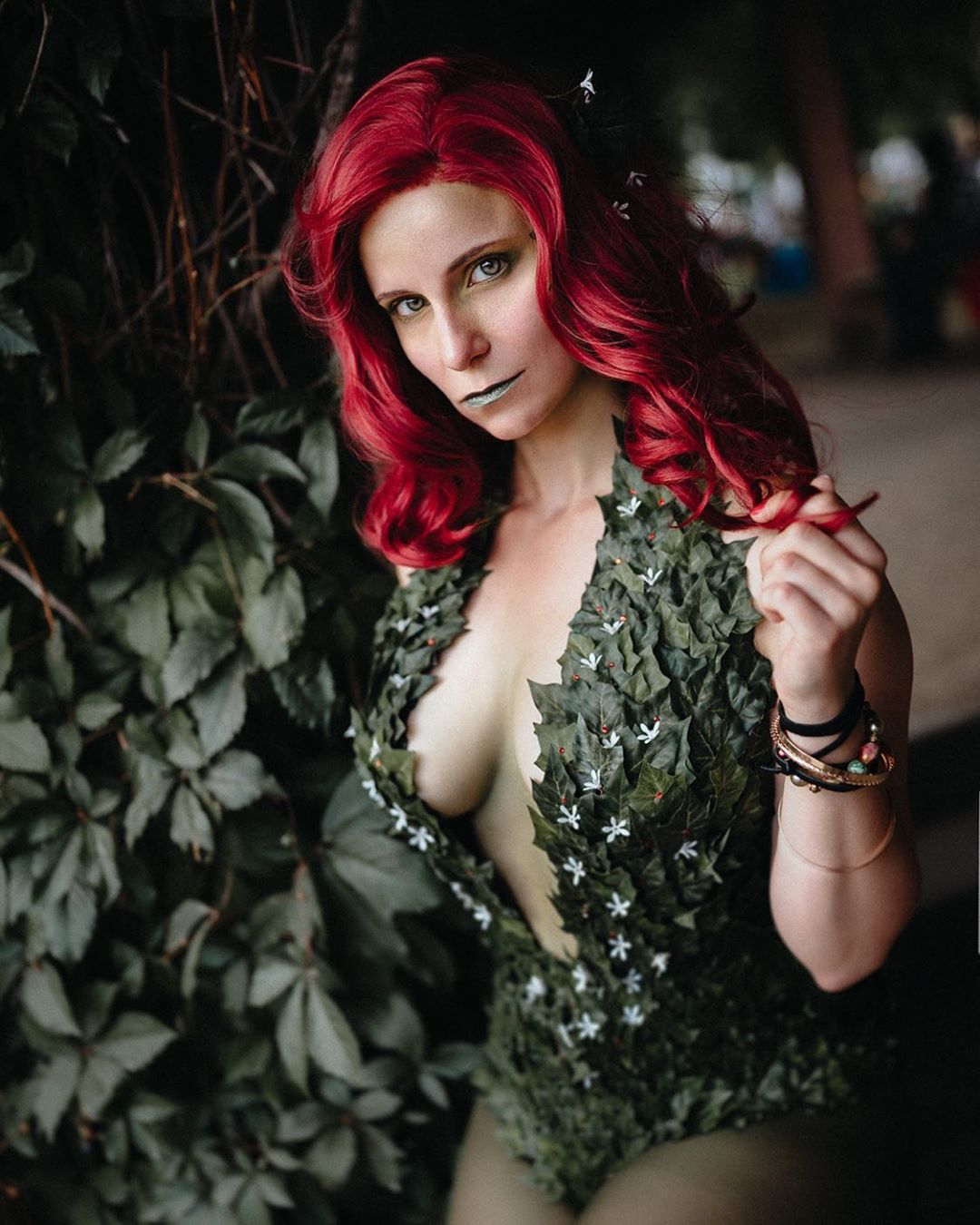 Poison Ivy Cosplay by vintera_cosplay – photo by polyesterpicturez