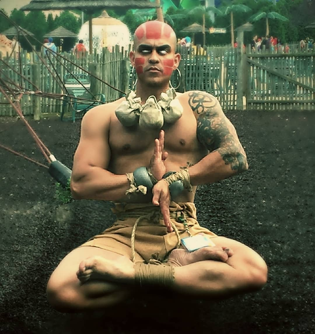 dhalsim streetfighter cosplay by erand.cosplay cosplay photo by silkyb_cosplay